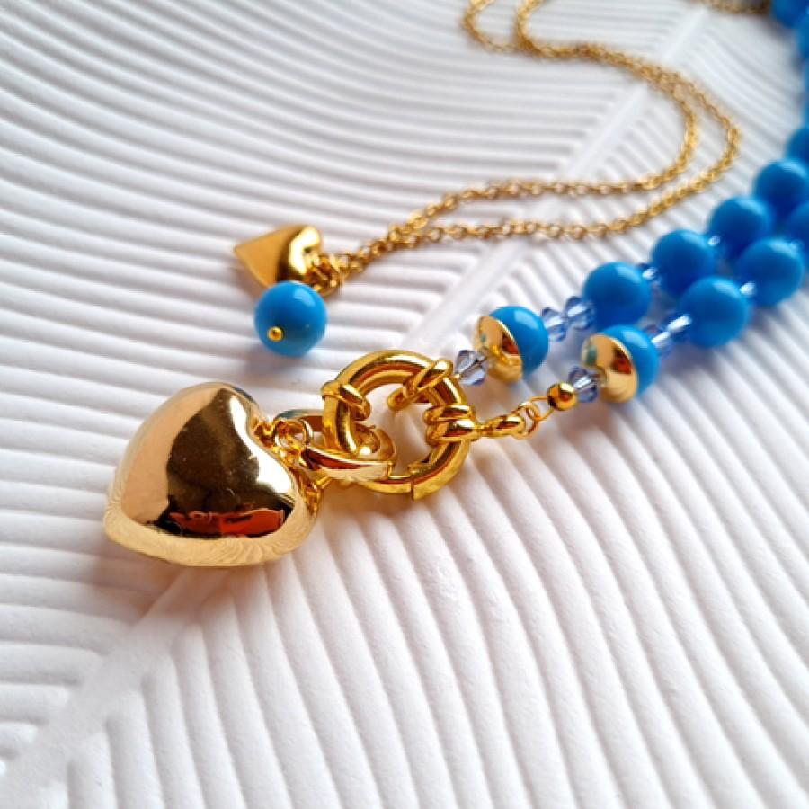 "Necklace ""Lagoon"""
