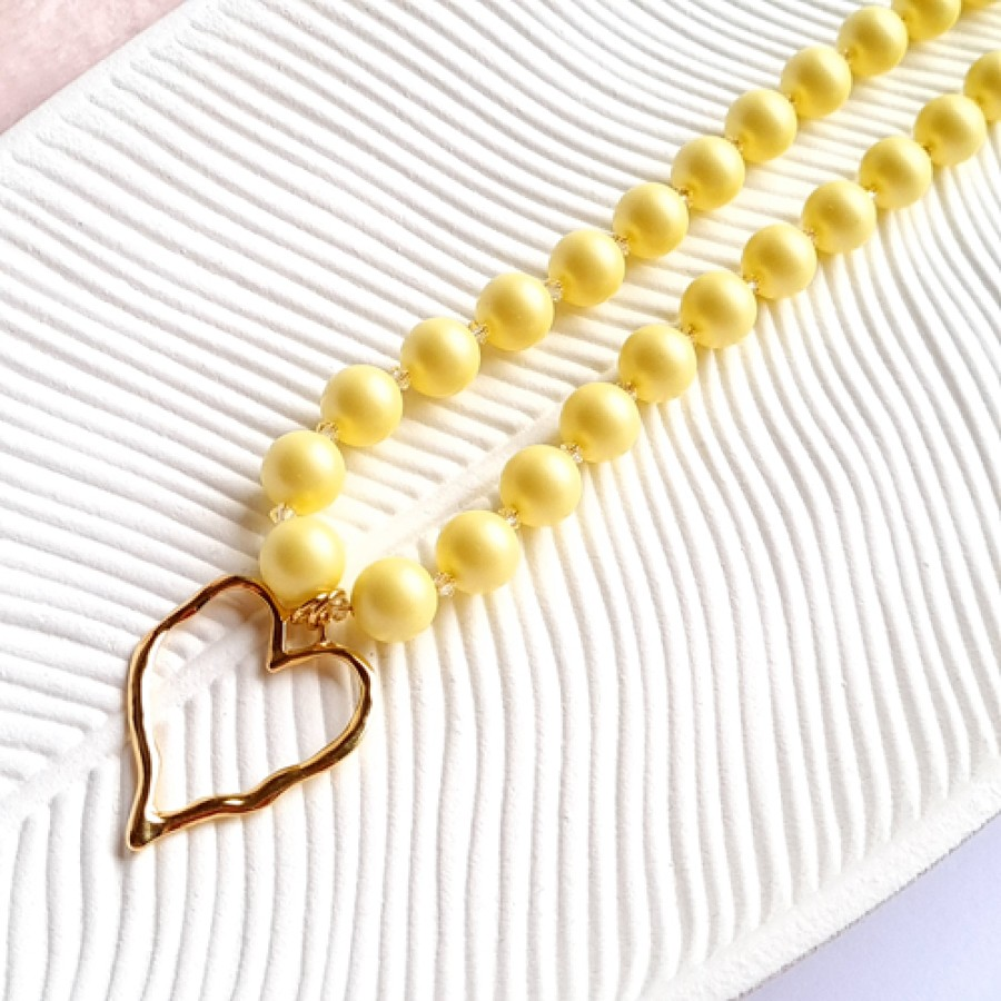 """Necklace """"Yellow"""""""